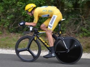 Cyclisme douleur genou
