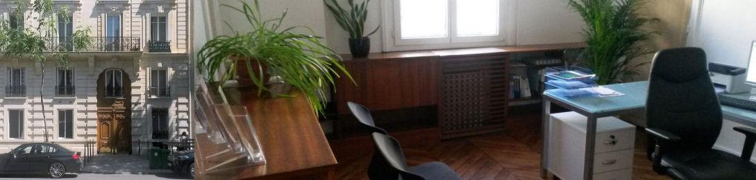 cabinet de consultation avenue de Wagram Paris 17ème