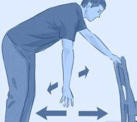 exercice pendulaire après chirurgie de l'épaule