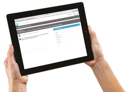Suivi post-opératoire avec questionnaires en ligne