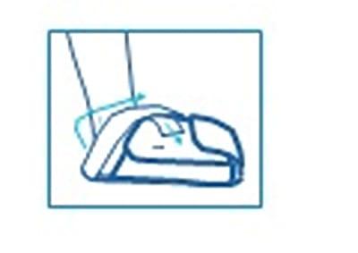 Utiliser le chausson de cryothérapie hallux valgus Igloo® : étape 4