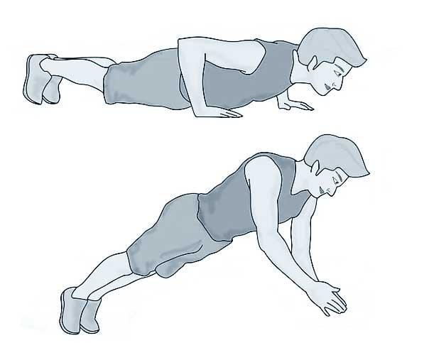 pliométrie : exercices pour les membres supérieurs-bras
