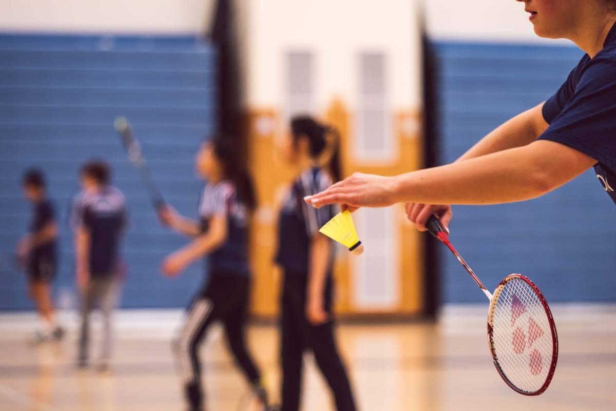 blessures au badminton