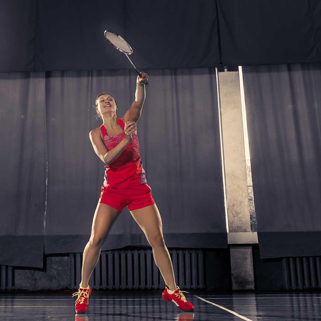 blessures au badminton : technopathies de l'épaule