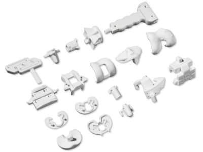 kit à usage unique et guides de coupe personnalisés pour prothèse totale du genou