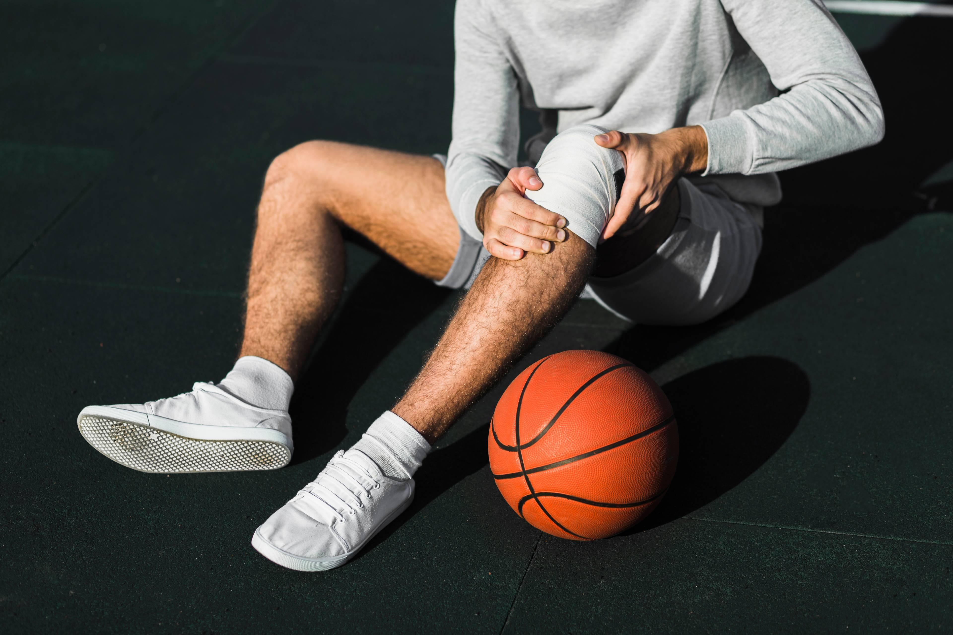 basketball : blessure au genou