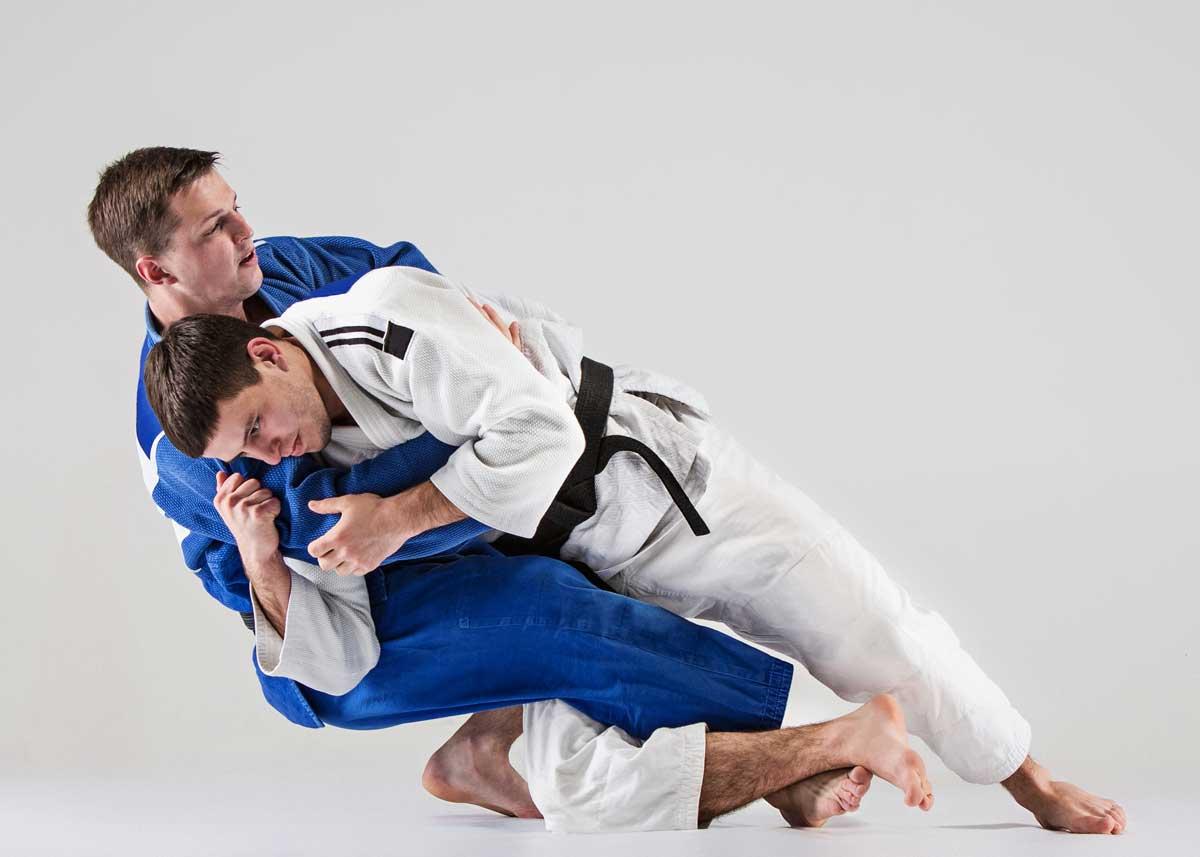 chute au judo