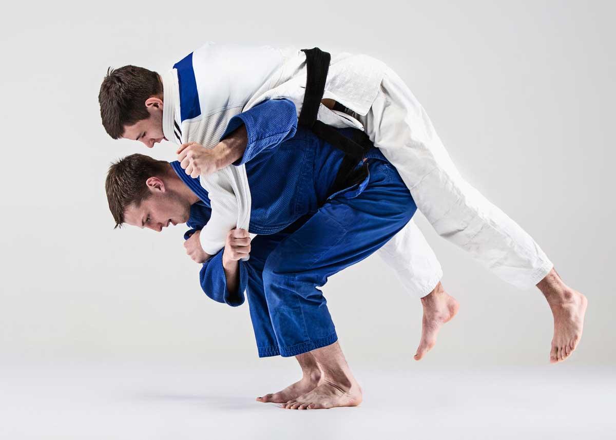 judo prise coude