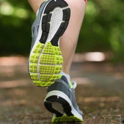 contraintes supportées par le pied