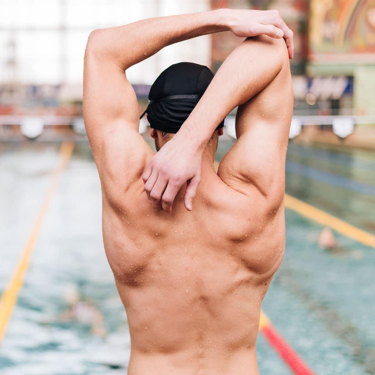 natation : étirements