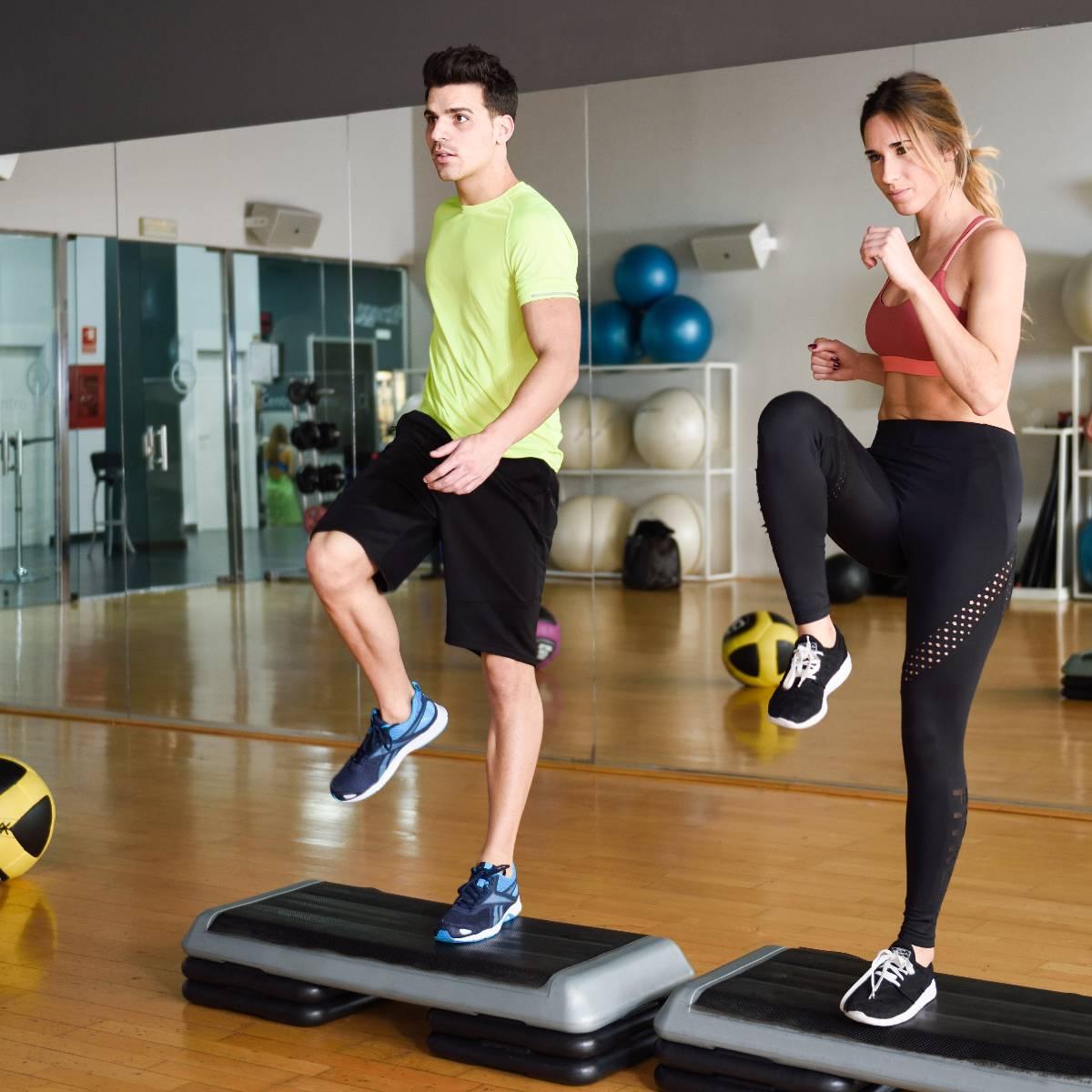 salle de sport : step