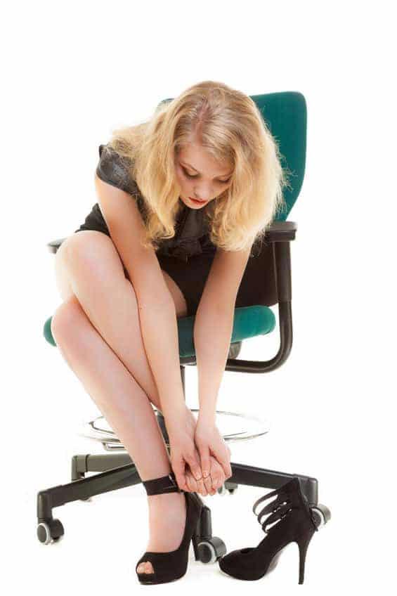 Le syndrome de Morton survient le plus souvent chez la femme