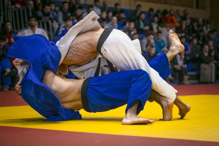 traumatisme au judo réception chute